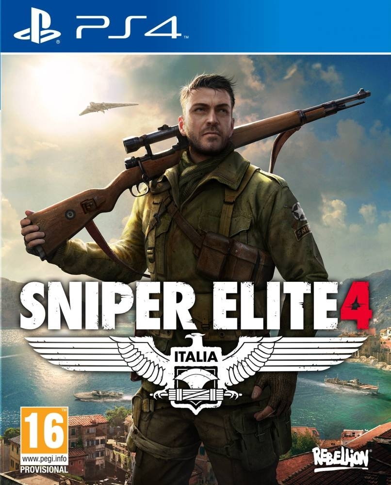 Sniper Elite 4 PL (PS4)